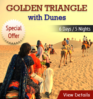 Golden Triangle with Dunes