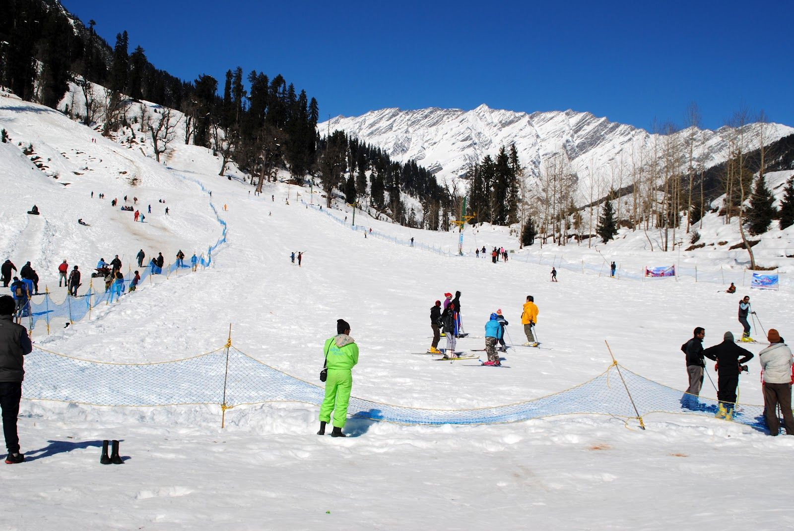 Manali in Himachal Pradesh - one you must certainly visit