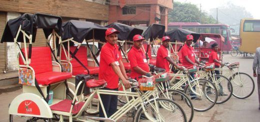 Where to Experience Rickshaw Ride in Delhi