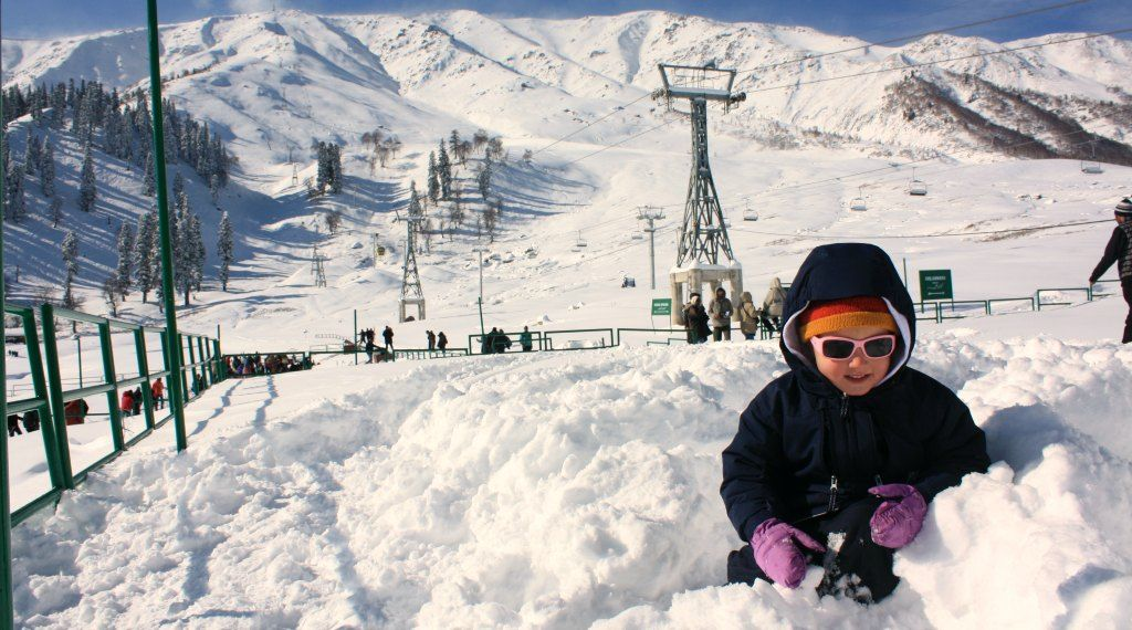 Gulmarg - thrilling spot of snow paradise