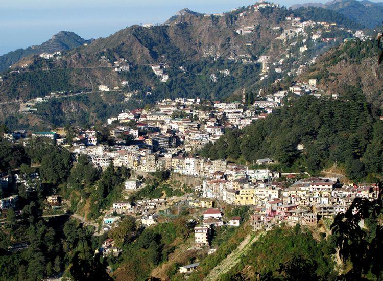 Landour Town in Uttarakhand
