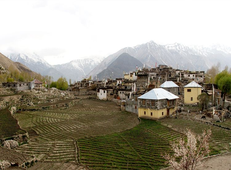 Nako Village in Lahaul Spiti