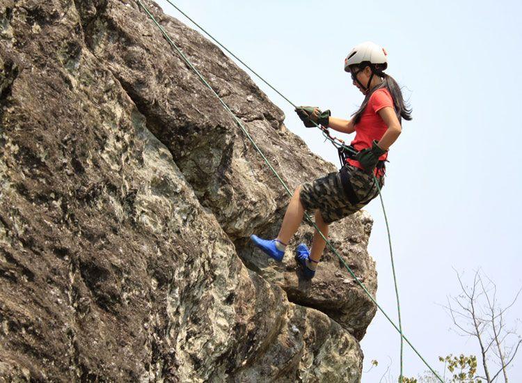 Rock Climbing in sikkim