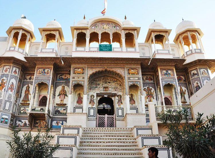 Mandawa Town in Rajasthan