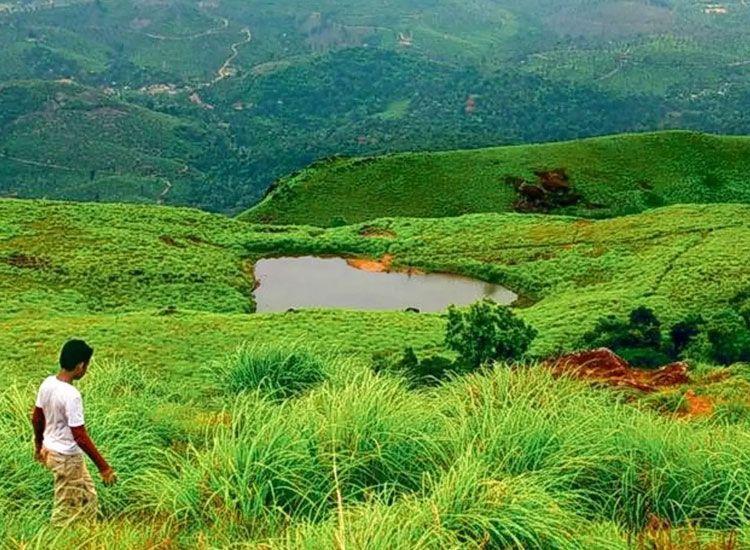 Chembra Peak in Kerala