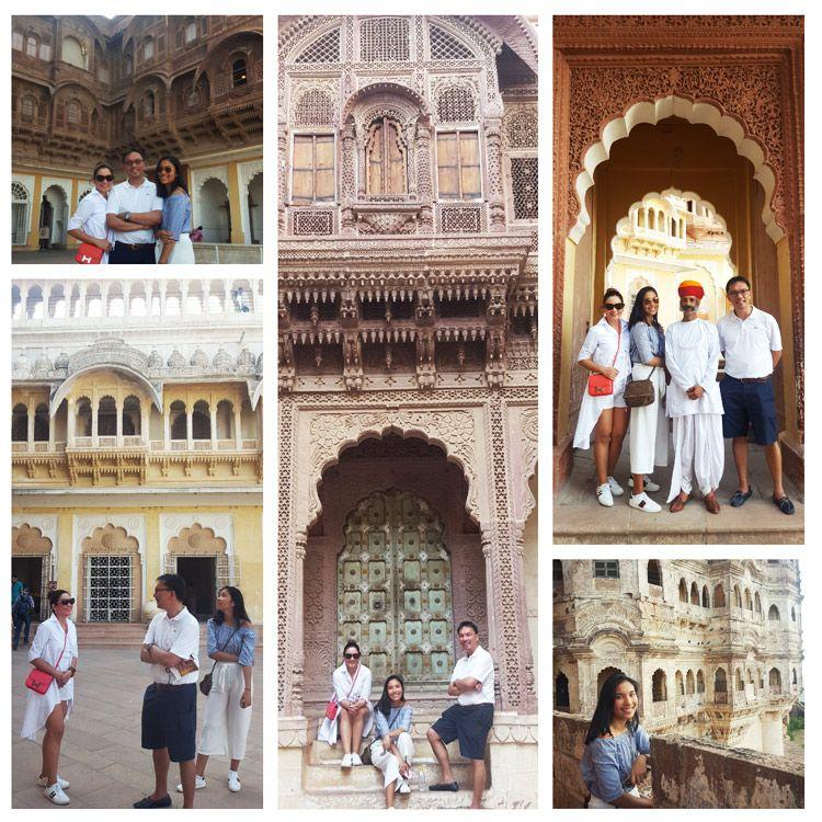 Exploring the Rajputana architecture in Jaipur