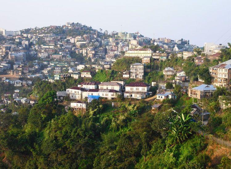 Lunglei in Mizoram