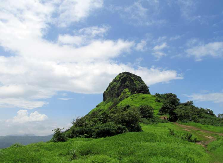 Trekking to Tikona Fort