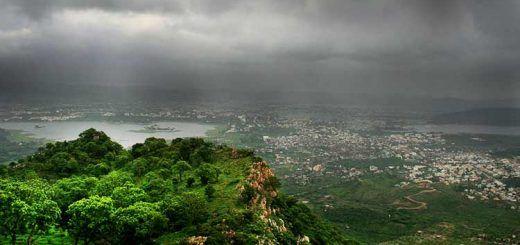 Udaipur in Monsoon Season