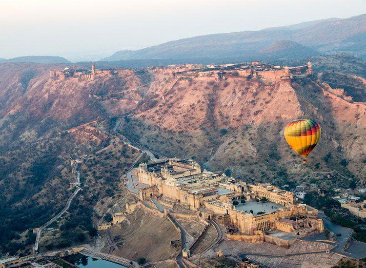 Hot Air Balloning in Rajasthan
