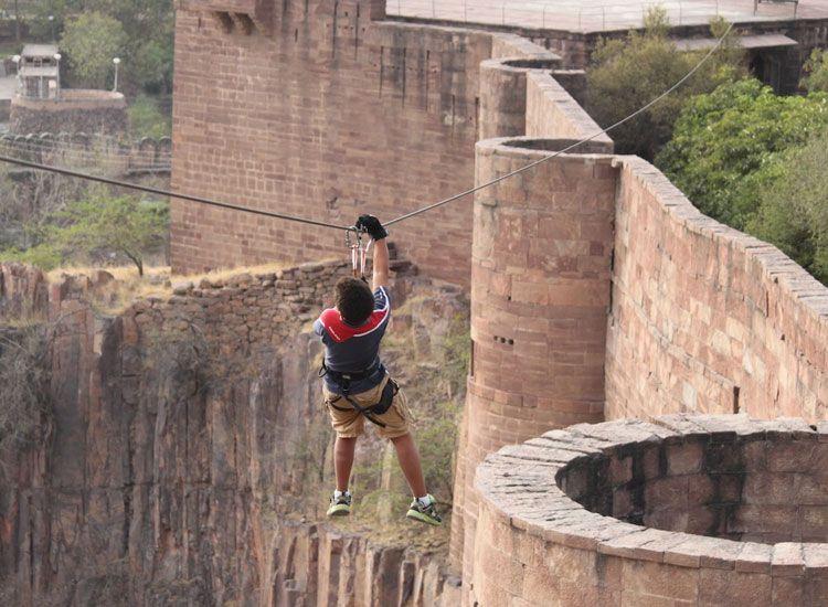 Zip Line in Rajasthan