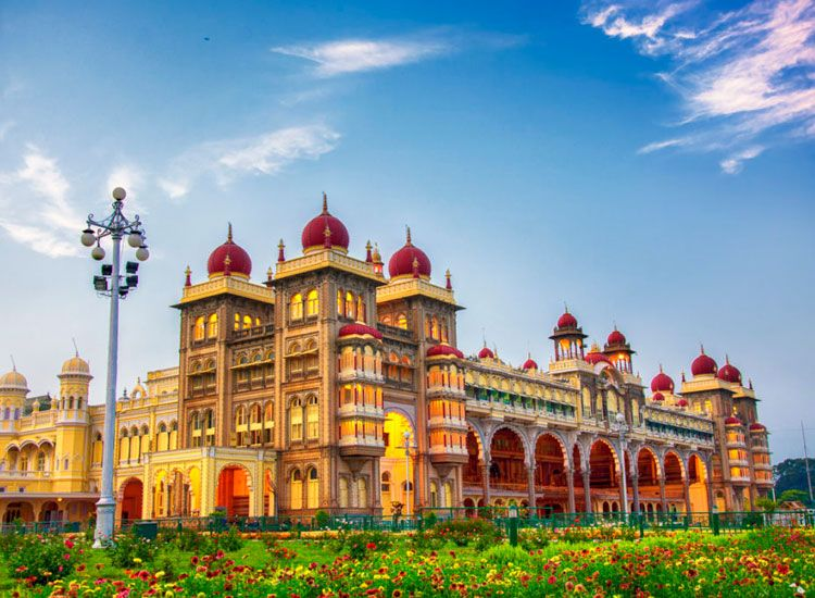 Mysore city near Bangalore