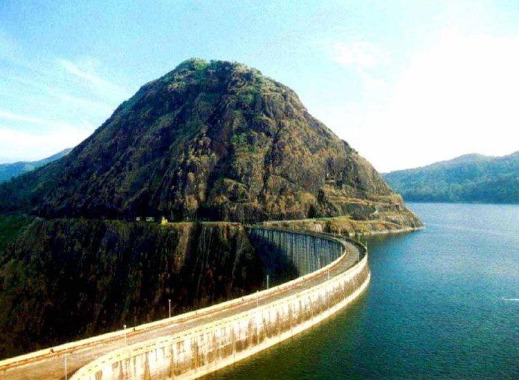 Idukki Dam in Kerala