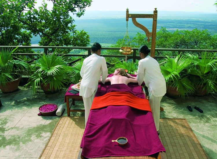 Image result for Beating Stress With Ayurvedic Retreat