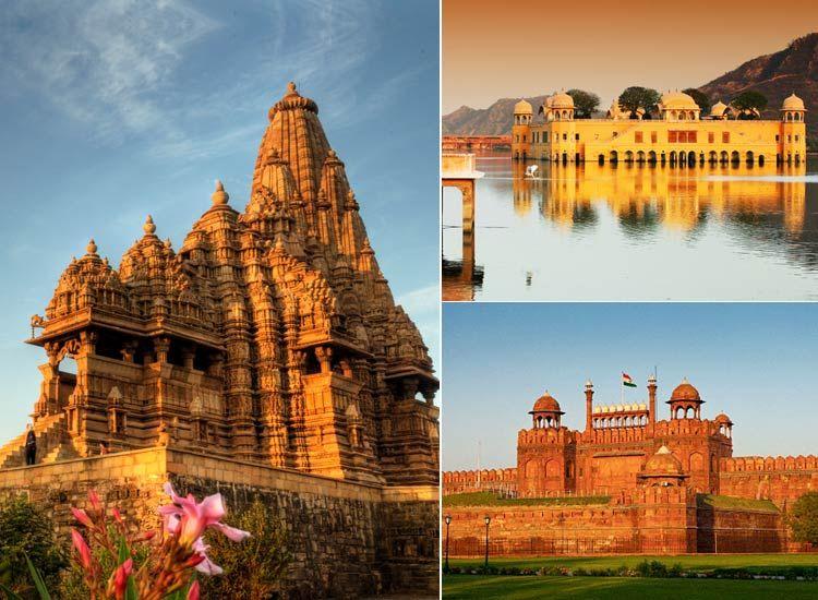 Delhi Agra Jaipur Khajuraho Tour Circuit