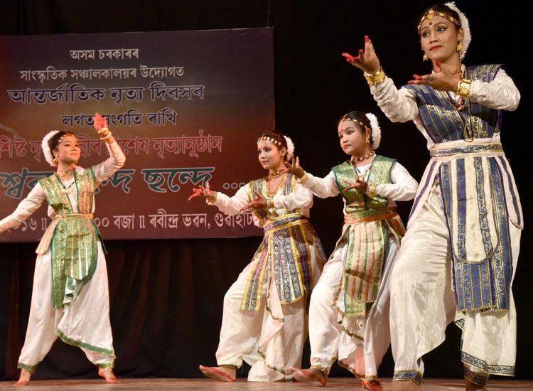 Sattriya dance in assam