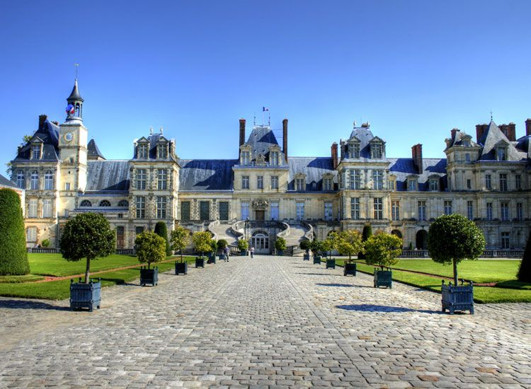 Palace of Fontainebleau, France
