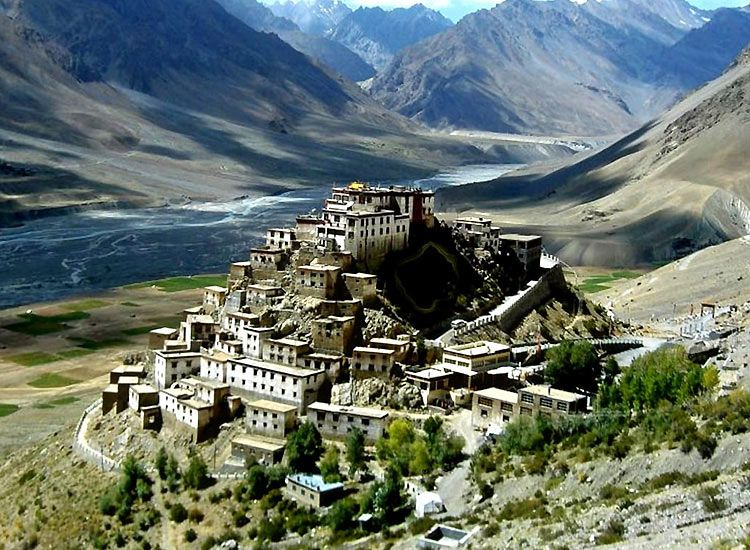 Spiti Valley - one of the best places in the Himalayas for summer vacations in India
