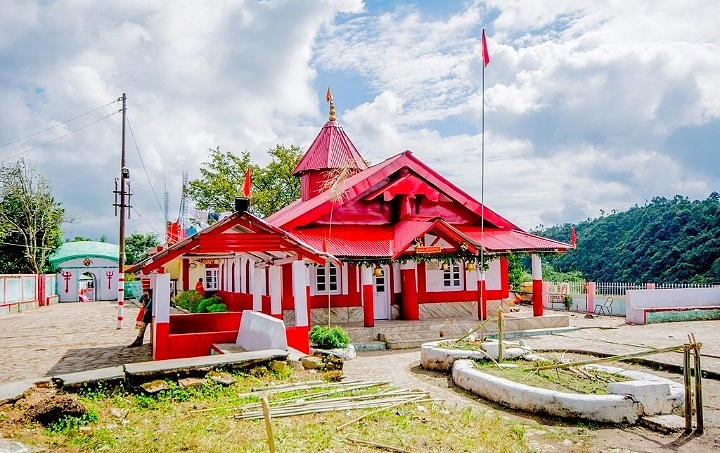 Natinga Durga Temple in Meghalaya