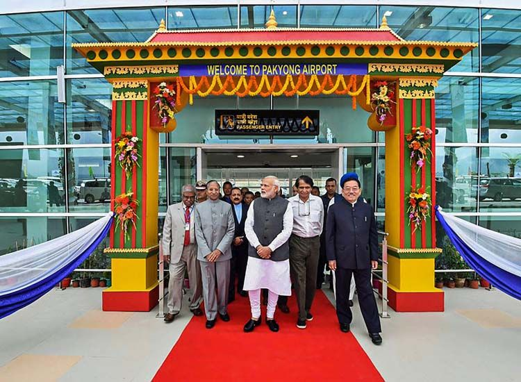 Sikkim Gets its 1st Airport While India Gets its 100th