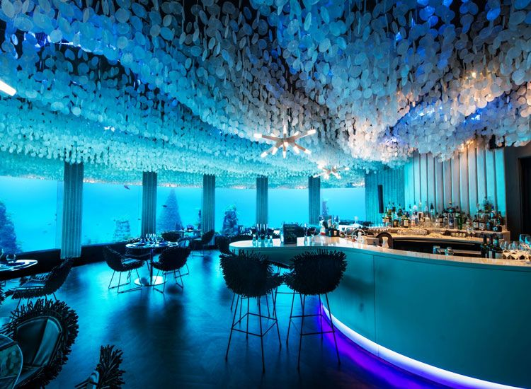 Incredible Underwater Restaurants in the world for wonderful dining