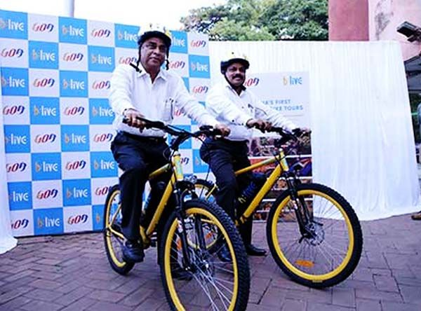Goa Government Adopts Sustainable Tourism With Launch of E-Bikes