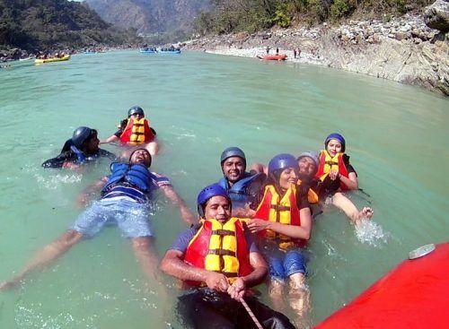 Body Surfing in rishikesh