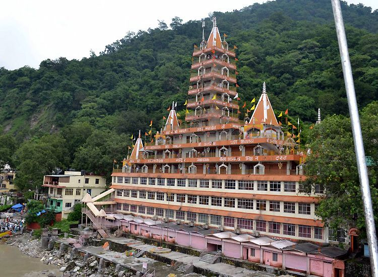 Famous Temple in Rishikesh