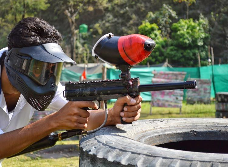 Things to do in Rishikesh: Double the fun with Paintball