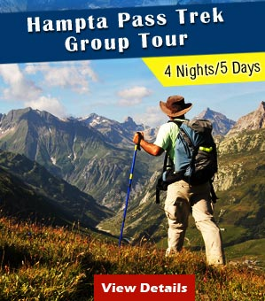 Hampta Pass with Chandratal Trek Group Tour