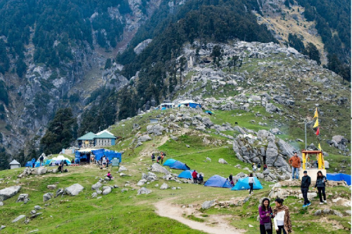 Triund Trek in Mcleodganj
