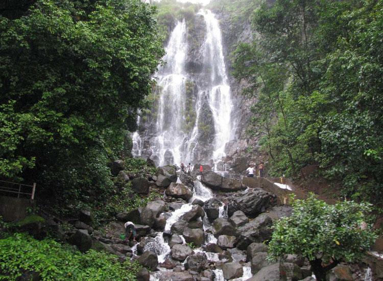 Waterfall at Amboli Hill Station