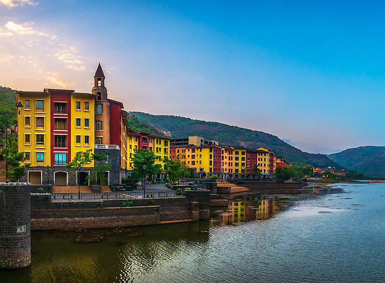Lavasa Hill Station in April