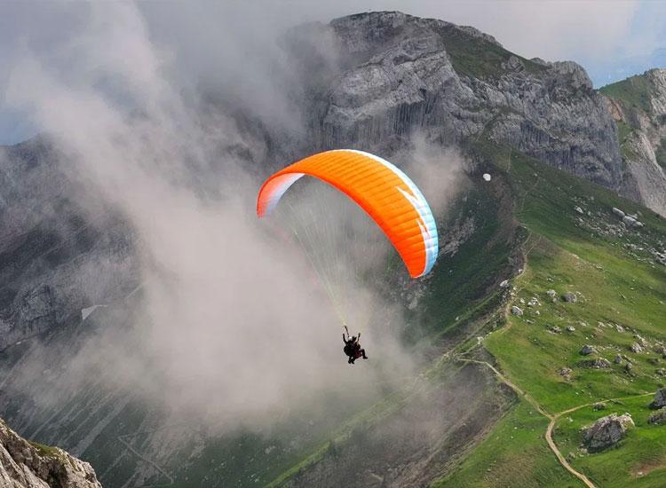 Paragliding- Adventure activities in Kamshet