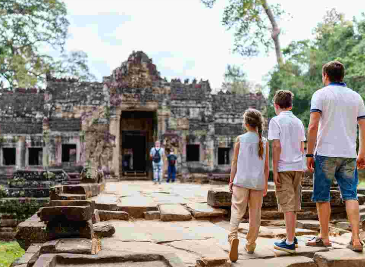 Cambodia trip with family