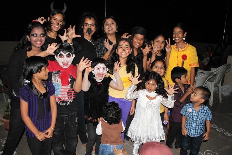 Children's Costume Halloween Party in India