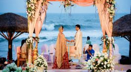 Wedding at the beaches of Kerala