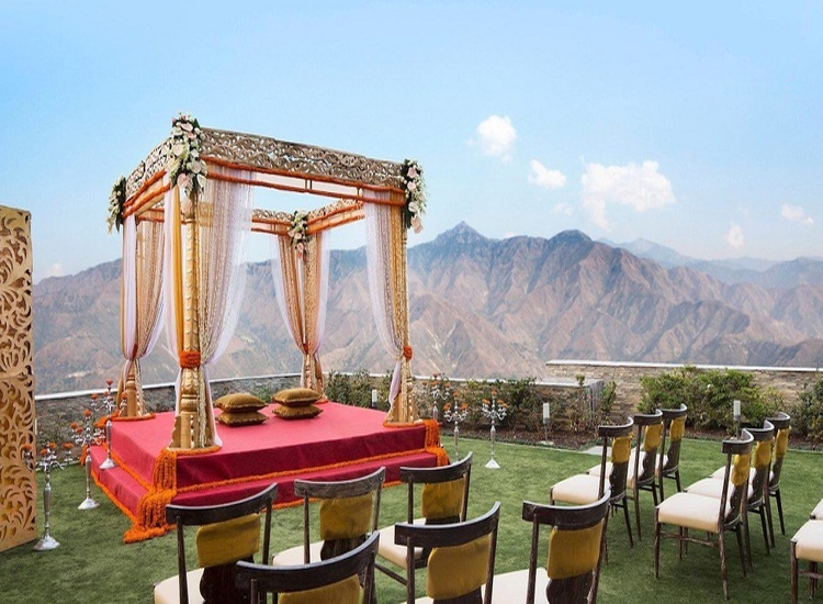 destination wedding in Mussoorie, Uttarakhand