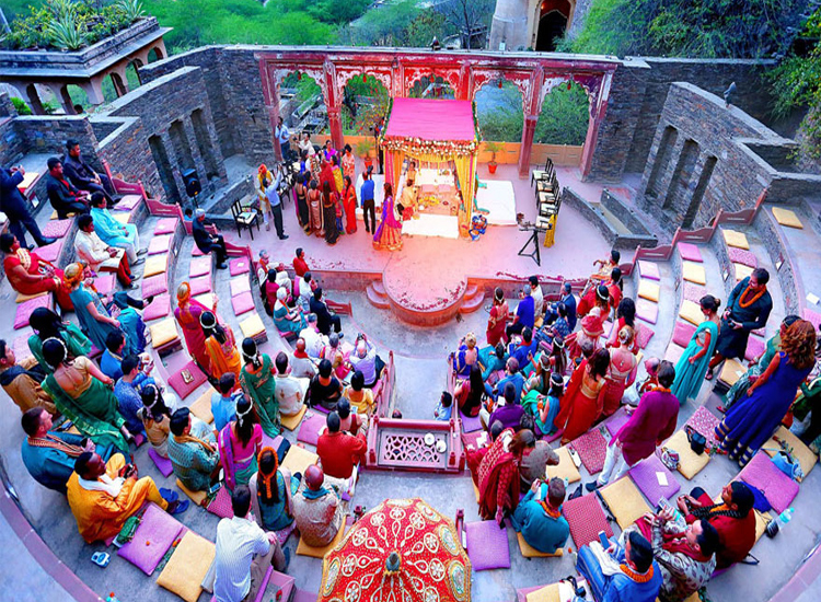 Neemrana Fort Wedding in Alwar