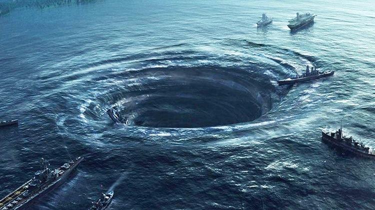The Bermuda Triangle, North Atlantic Ocean.