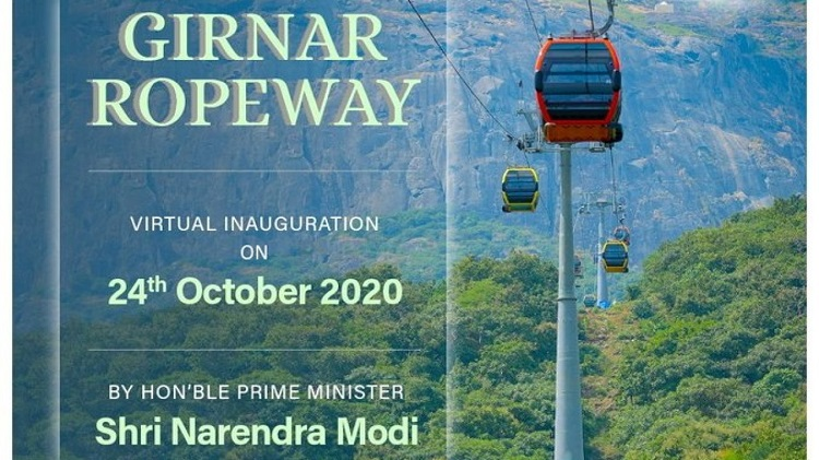 Asia's Longest Ropeway – Girnar Ropeway to be Inaugurated Today