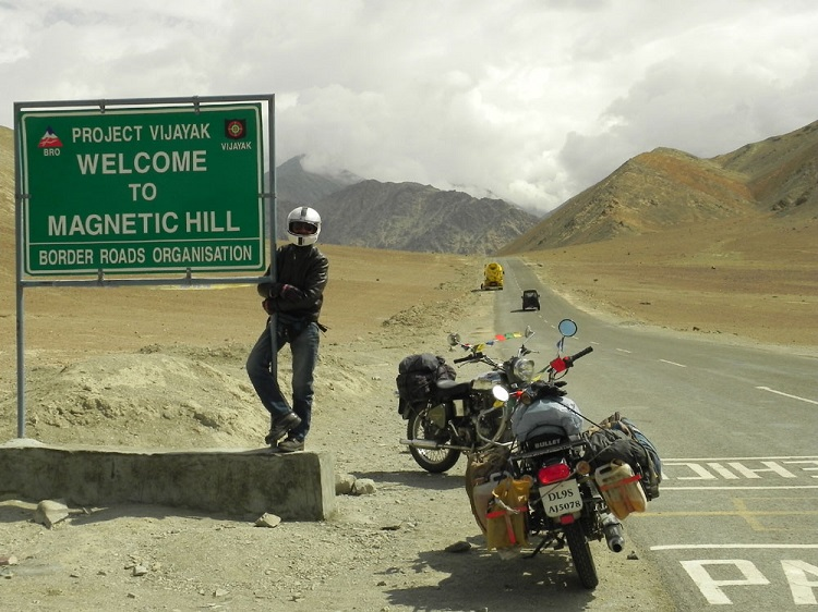 Magnetic Hill India