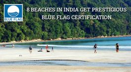 8 Indian Beaches Gets Blue Flag Certification:  A First in Asia