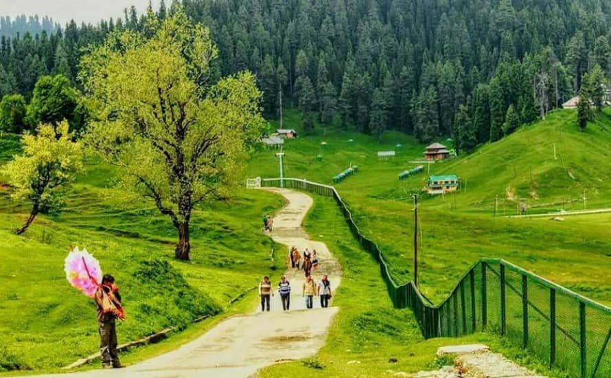 Children's Park in Gulmarg