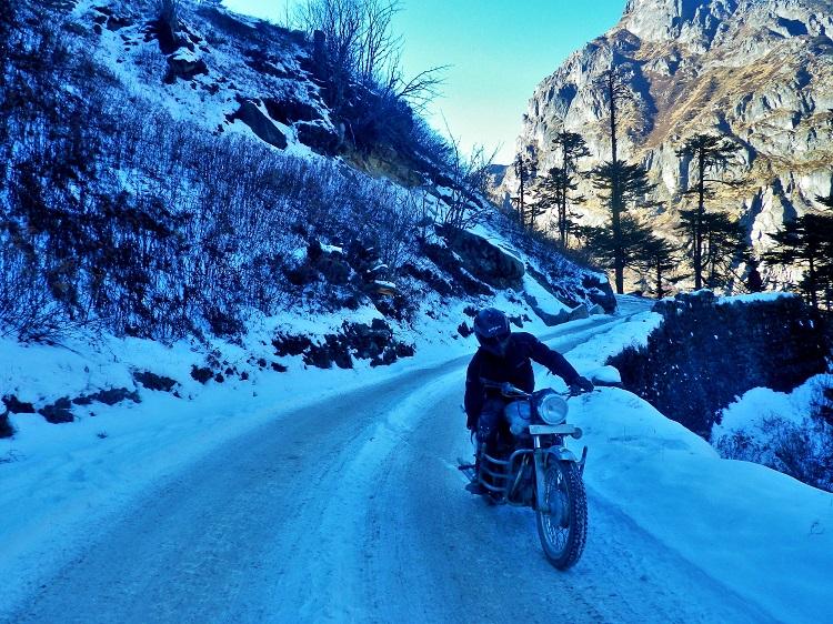 Guwahati Tawang in winter