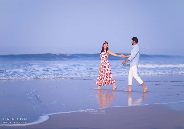 goa beach for couple