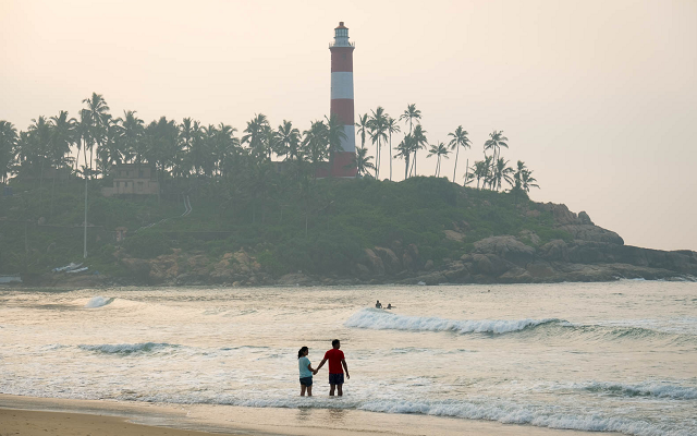 Lighthouse Beach, Kovalam, Kerala