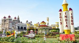 mysore palaces flower show