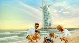 Family tour to Dubai in january