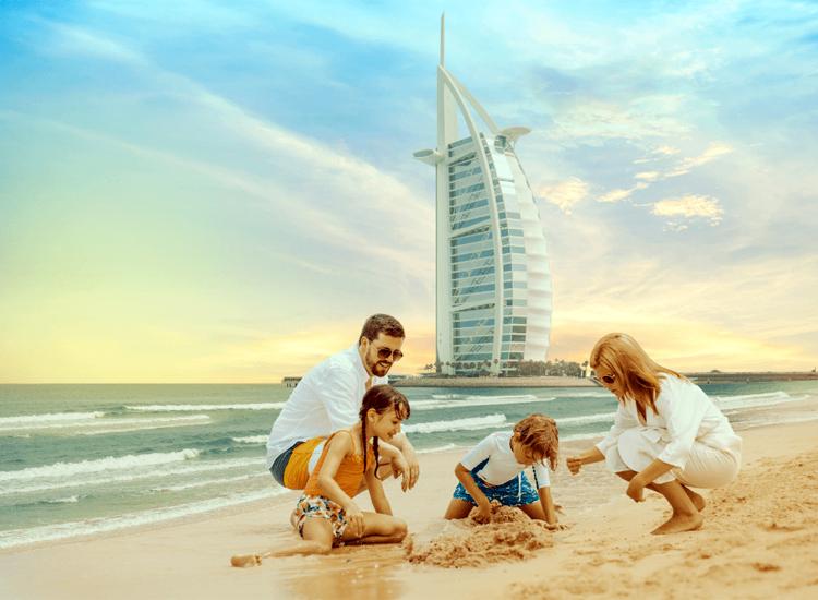 Family tour to Dubai in january